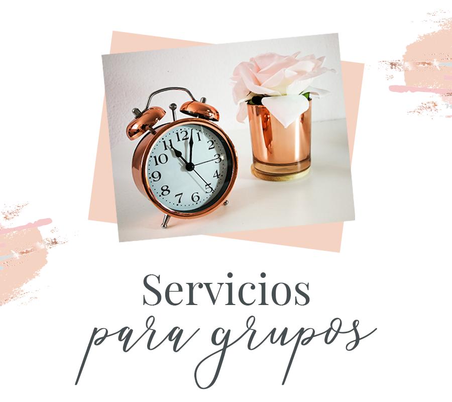Servicios para grupos